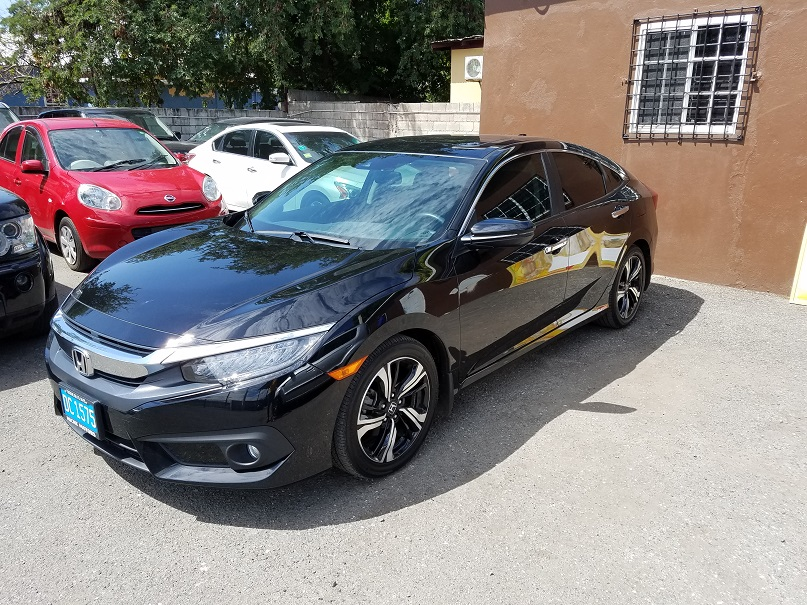 Honda civic touring 2016 niche motors jamaica used car for Honda civic dealership